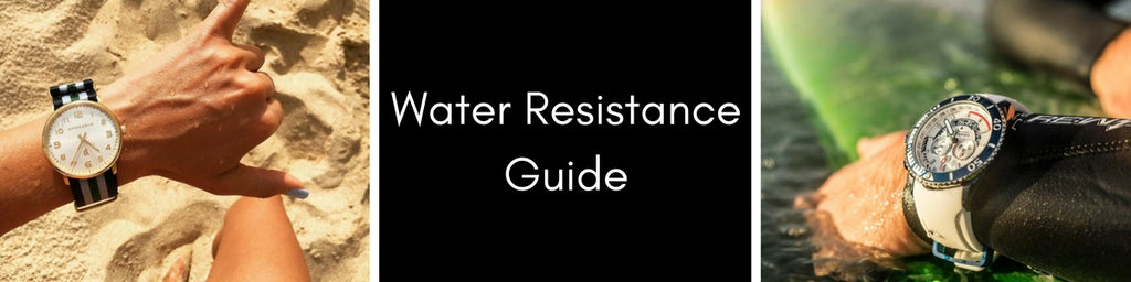 The Watch Factory Australia Water Resistance Guide