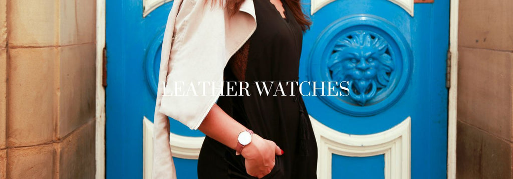 Women's Leather Watches Australia - The Watch Factory