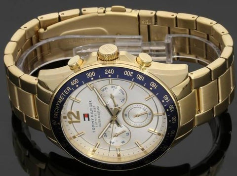 8ddc7720 Tommy Hilfiger Men's Gold Watch - 1791121 – The Watch Factory Australia