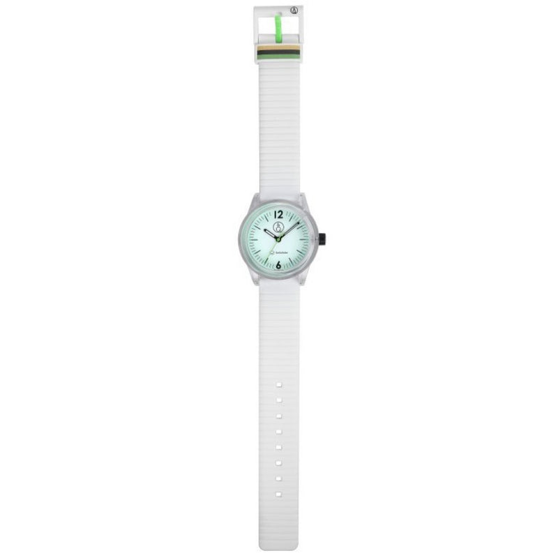 Q&Q SmileSolar White Solar Unisex Watch - RP18J008Y