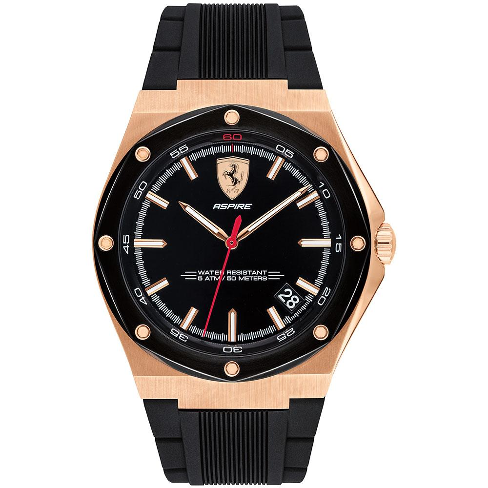 Ferrari Aspire Rose Gold Men's Sports Watch - 830553