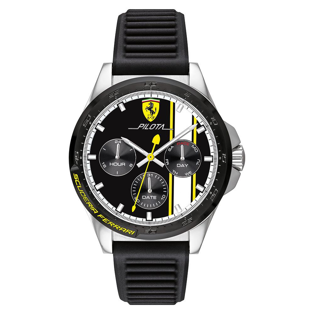 Scuderia Ferrari Pilota Multi-function Men's Watch - 830659