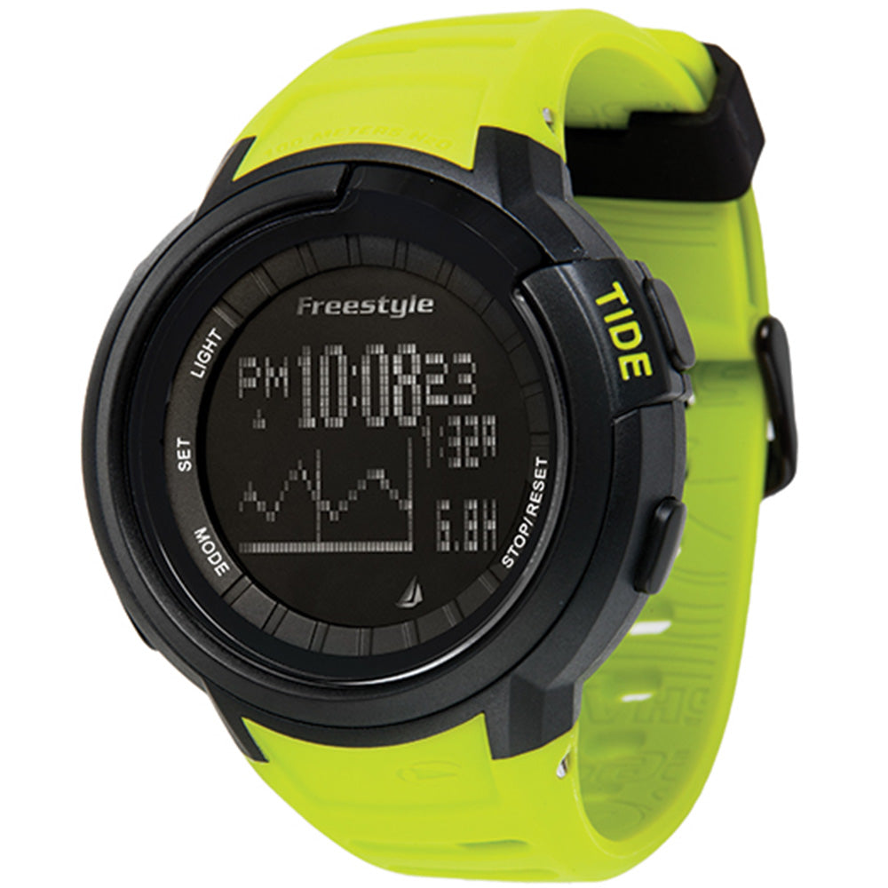 Freestyle Mariner Tide Black & Yellow Watch - 10017972