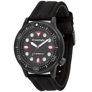 Freestyle Ballistic Diver Black & Red Watch - 10024401