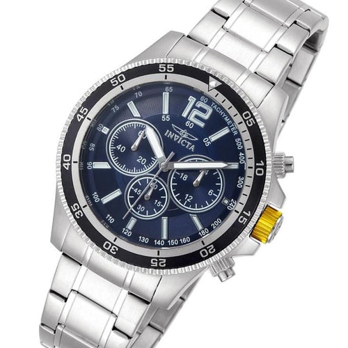 Invicta Specialty Stainless Steel Chrono Men's Watch - 13974