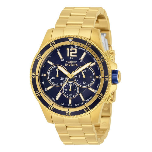 Invicta Specialty Gold Steel Chrono Men's Watch