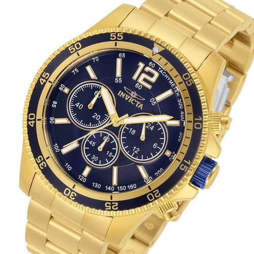Invicta Specialty Gold Steel Chrono Men's Watch - 13978
