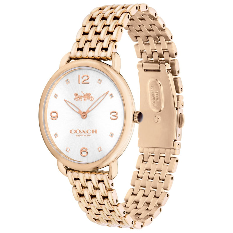 Coach Delancey Gold Ladies Watch - 14502787