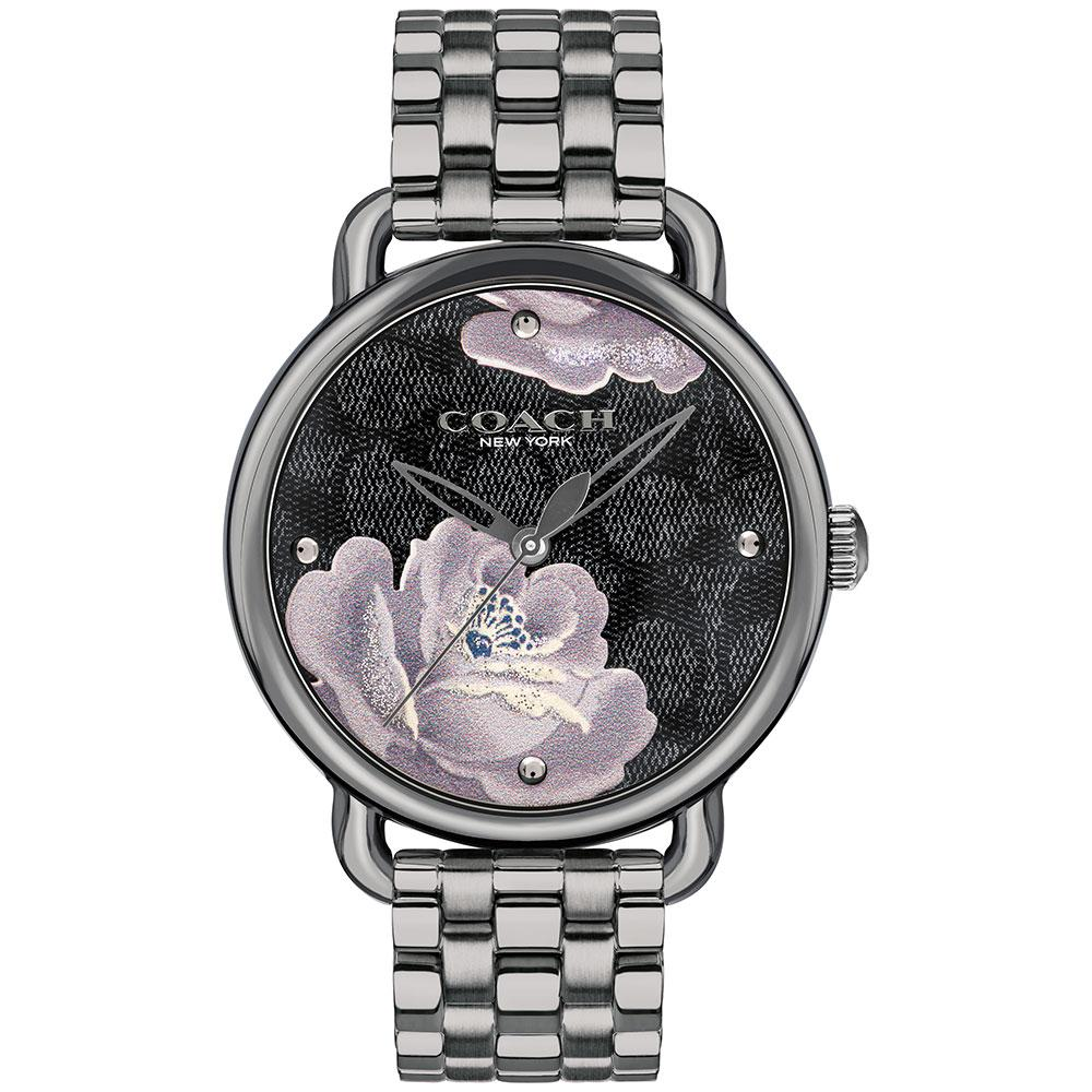 Coach Delancey Gunmetal Women's Watch - 14503165