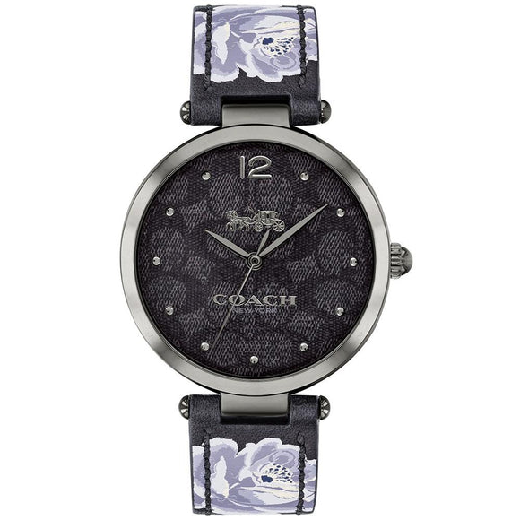 Coach Park Grey Leather Women's Watch - 14503177