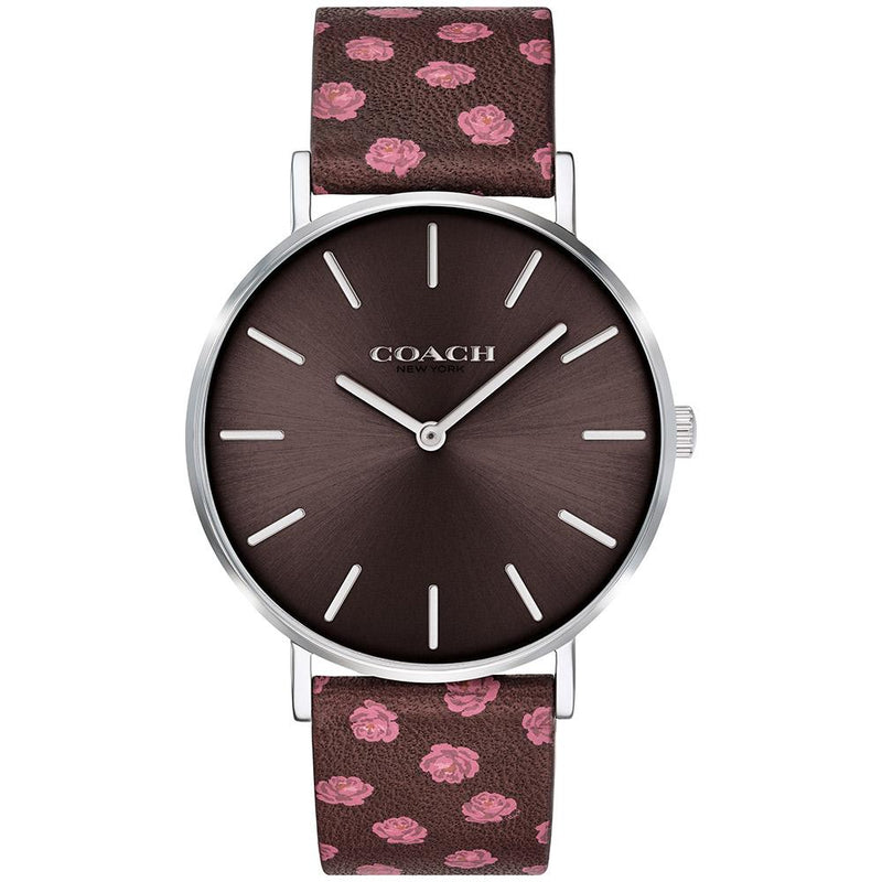 Coach Perry Multicolor Calfskin Women  Watch - 14503229