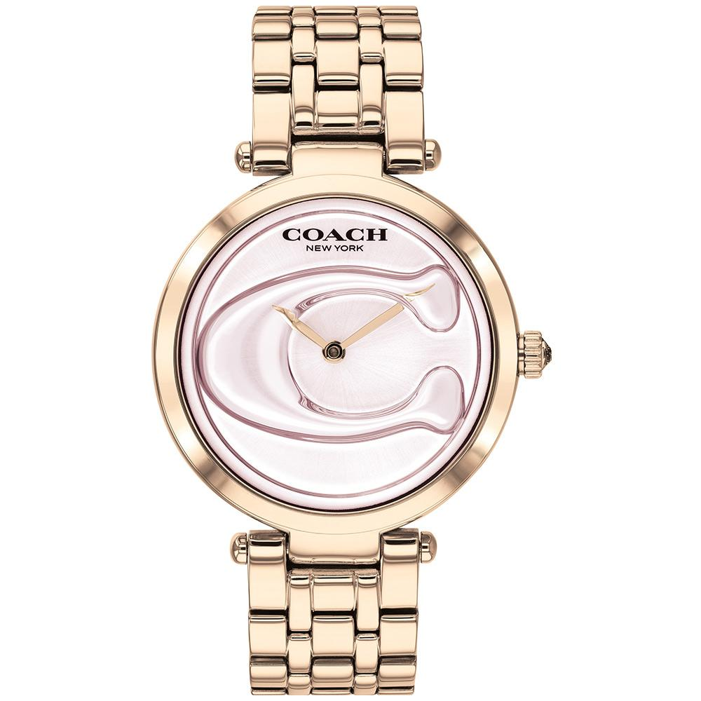 Coach Park Signature C Carnation Gold Ladies Watch - 14503234
