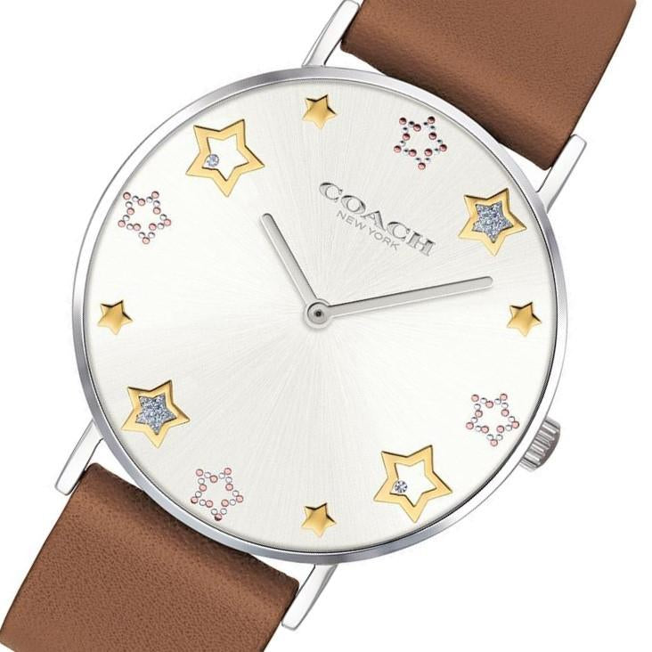 Coach Perry Brown Leather Ladies Watch - 14503242