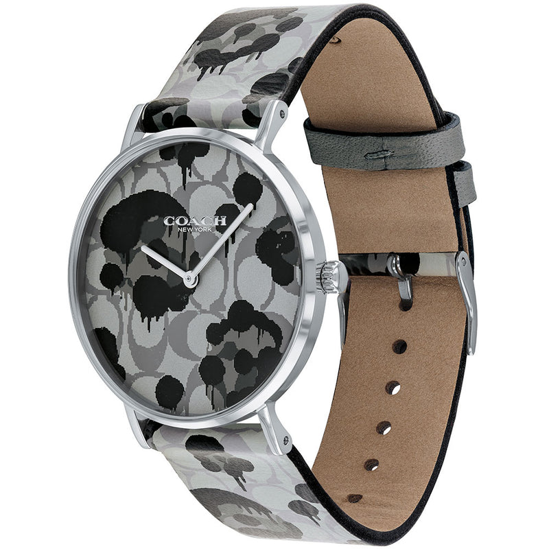 Coach Perry Leather Ladies Watch - 14503248