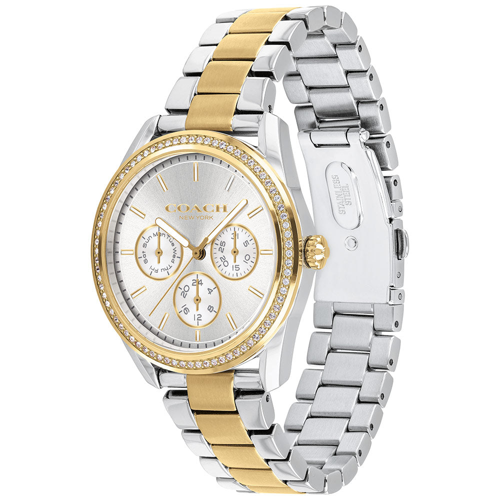 Coach Preston Two-Tone Ladies Sport Watch - 14503268