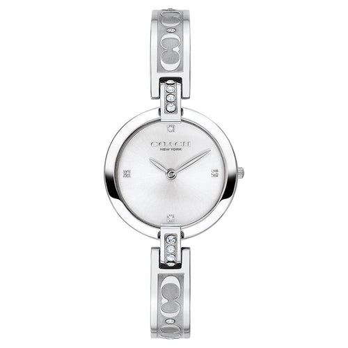 Coach Chrystie Silver Steel Ladies Watch - 14503316