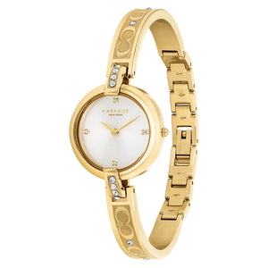 Coach Chrystie Gold Steel Ladies Watch - 14503318