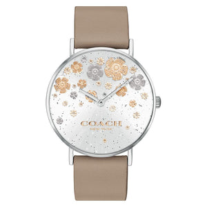 Coach Perry Stone Leather Ladies Watch - 14503326