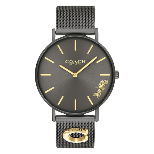 Coach Perry Black Mesh Ladies Watch - 14503339