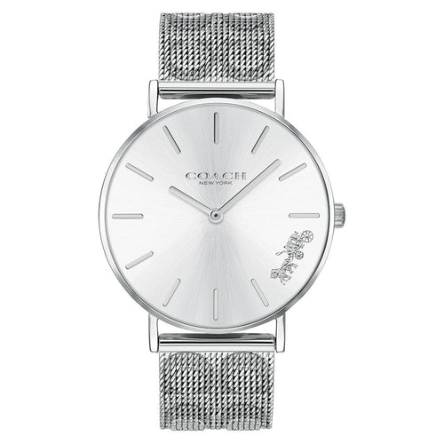 Coach Perry Silver Mesh Ladies Watch - 14503341