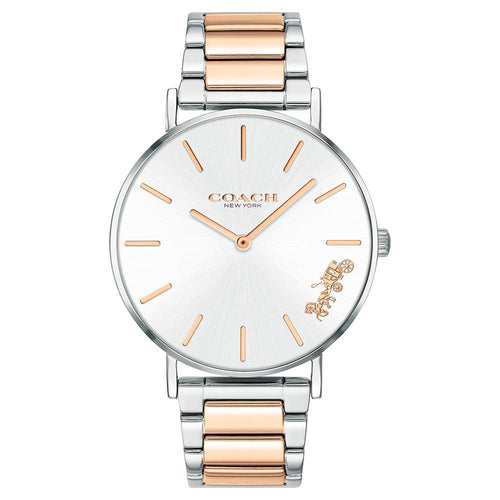 Coach Perry Two-Tone Steel Ladies Watch - 14503346