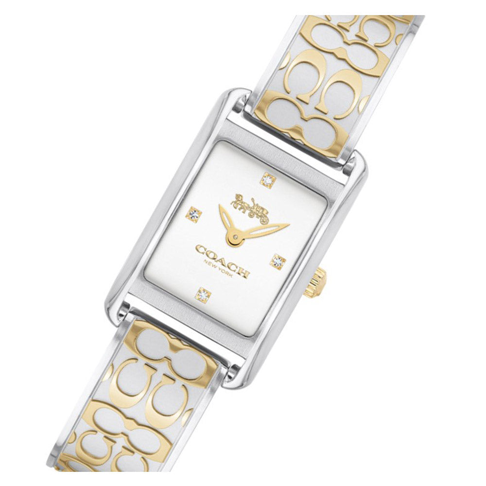 Coach Allie Two-Tone Steel Ladies Slim Watch - 14503381