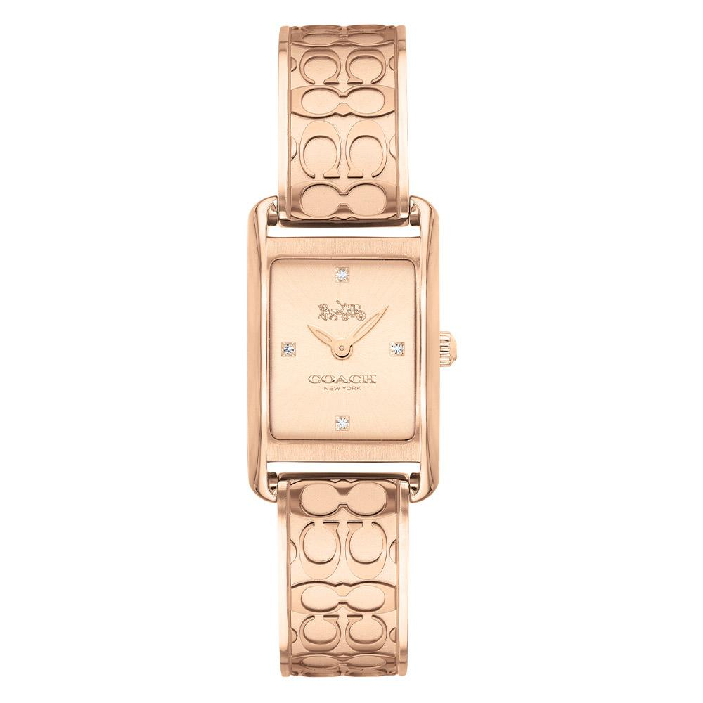 Coach Allie Rose Gold Steel Ladies Slim Watch - 14503382