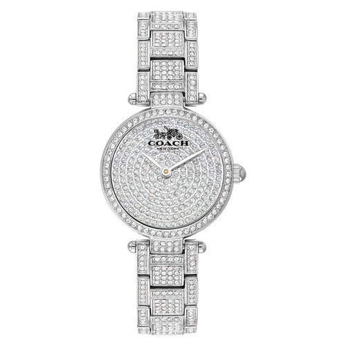 Coach Park Steel with Crystal Ladies Watch - 14503430