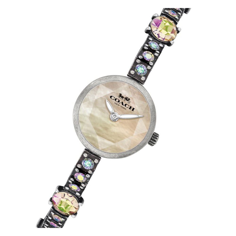 Coach Jordyn Antique Finish with Swarovski Crystals Ladies Watch - 14503435