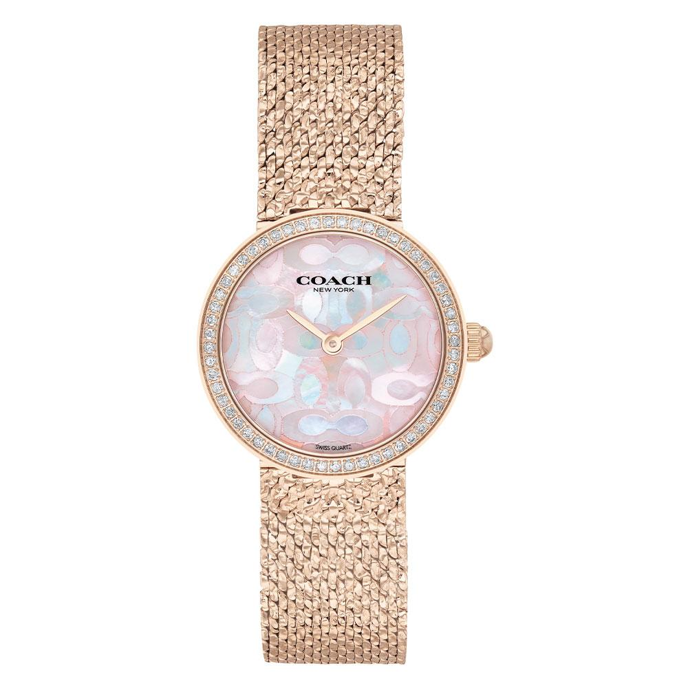 Coach Hayley Carnation Gold Steel Ladies Watch - 14503438