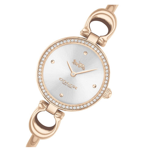 Coach Park Carnation Gold Steel Bangle Ladies Watch - 14503447