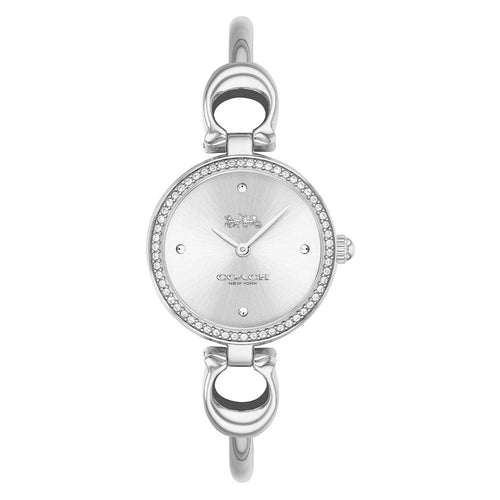 Coach Park Signature C Silver Steel Ladies Watch - 14503448