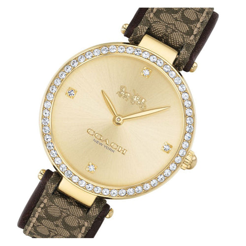 Coach Park Jacquard Signature C Strap Ladies Watch - 14503456
