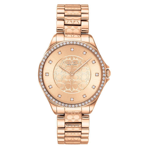 Coach Astor Rose Gold Steel Women's Watch - 14503505