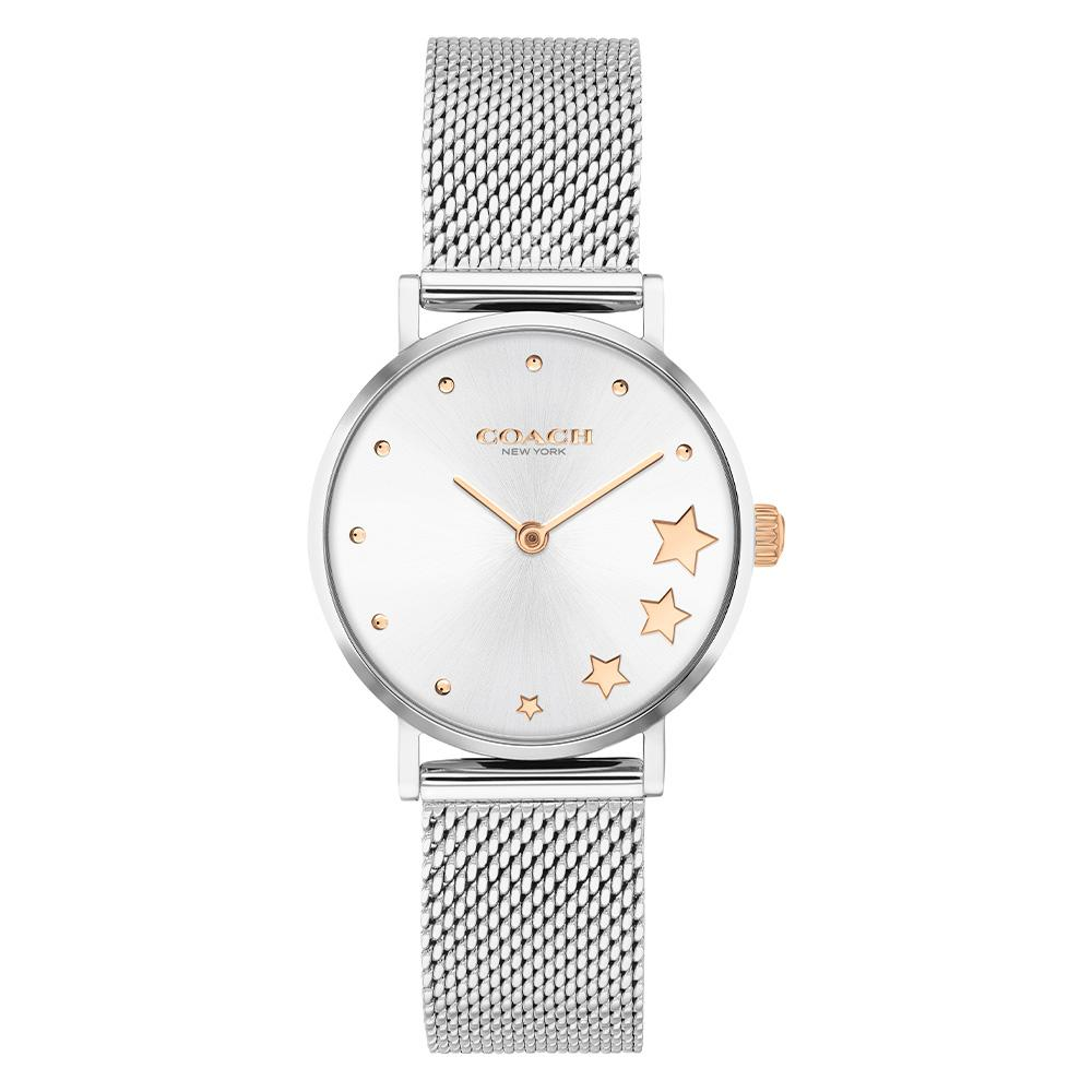 Coach Perry Silver Mesh Ladies Watch - 14503519
