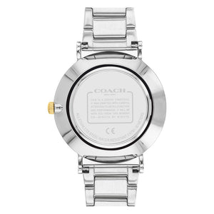 Coach Perry Two-Tone Stainless Steel Ladies Watch - 14503523