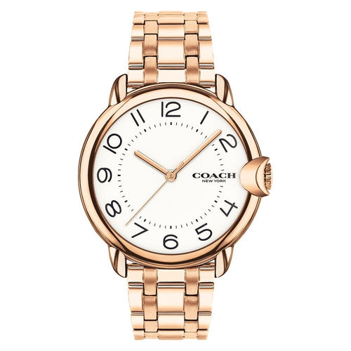 Coach Arden Rose Gold Steel Women's Watch - 14503598