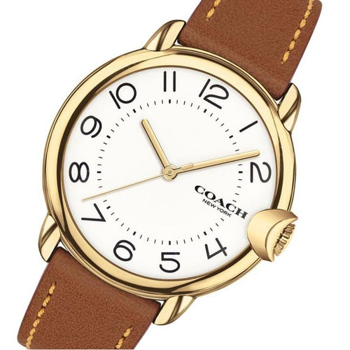 Coach Arden Saddle Leather Women's Watch - 14503607