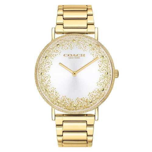 Coach Perry Gold Steel Women's Watch - 14503633