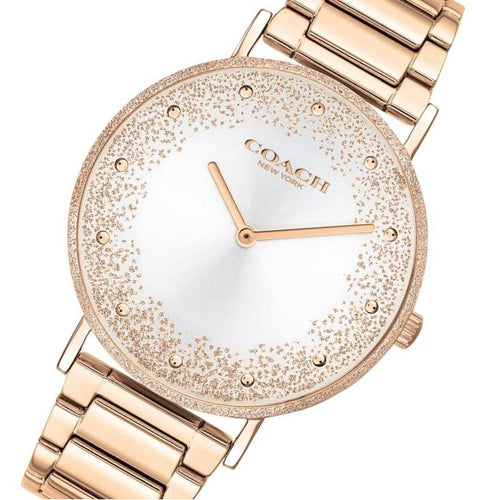 Coach Perry Rose Gold Steel Women's Watch - 14503634