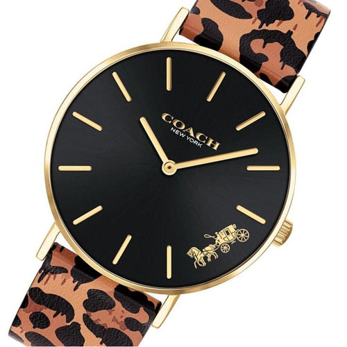 Coach Perry Multi-colour Leather Women's Watch - 14503712