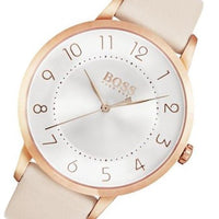 Hugo Boss Eclipse Pink Leather Ladies Watch - 1502407