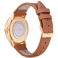 Hugo Boss Jillian Brown Leather Ladies Watch - 1502411