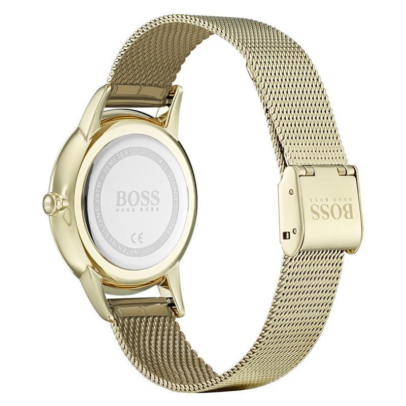 Hugo Boss Twilight Gold Mesh Ladies Watch - 1502465