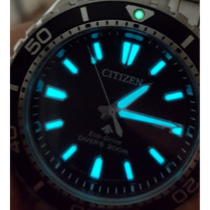 Citizen Promaster Marine Gents Eco-Drive Stainless Steel Diver Watch - BN0190-15E