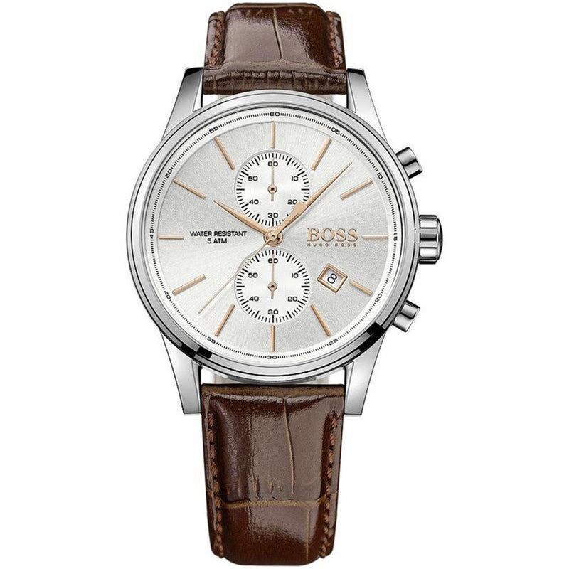 Hugo Boss Brown Leather Mens Watch - 1513280