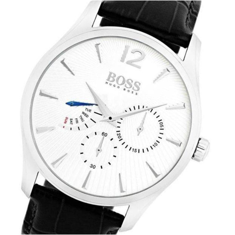 Hugo Boss Commander Leather Men's Watch - 1513491