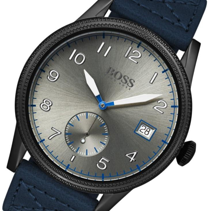 Boss Legacy Blue Leather Men's Watch - 1513684