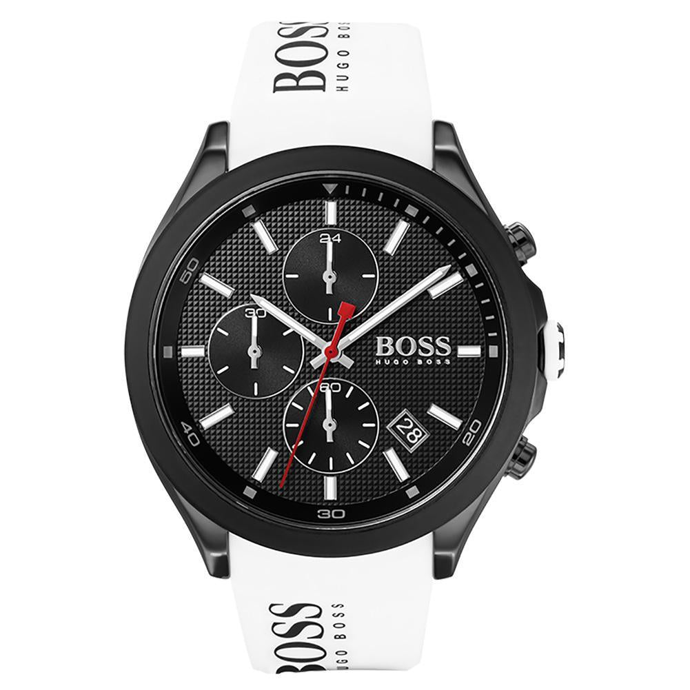Hugo Boss Velocity White Silicone Men's Watch - 1513718