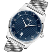 Hugo Boss Master Silver Mesh Men's Watch - 1513737